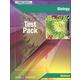 Biology Test Pack w/ Answer Key (Pwr Basics)