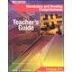Vocabulary & Reading Comp Teacher Guide (PB)