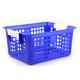 Book Basket - Blue