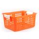 Book Basket - Orange