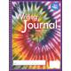 Writing Journal - Swirling Tie-Dye - Grade 4-Up