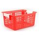 Book Basket - Red