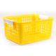 Book Basket - Yellow