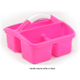 Deluxe Small Utility Caddy - Hot Pink