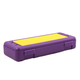 Pencil/Ruler Box with Plate - Purple