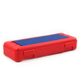 Pencil/Ruler Box with Plate - Red