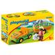 Zoo Vehicle with Rhinoceros (Playmobil 1-2-3)