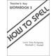 How to Spell 3 Teacher Key