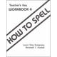 How to Spell 4 Teacher Key