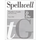 Spellwell D/DD Teacher