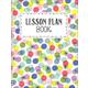 Year-Long Lesson Plan Book - Color Pop