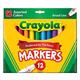 Crayola Broad Line Markers Assorted 12 Count