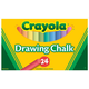 Crayola Chalk Sticks 24 Count