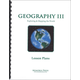 Geography III Lesson Plans