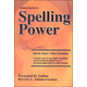 Spelling Power Quick Start DVD Seminar (3rd Edition)