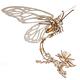 Ugears 3D Wooden Mechanical Model Butterfly