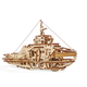 Ugears 3D Wooden Mechanical Model Tugboat