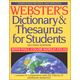 Webster's Dictionary & Thesaurus for Students Second Edition