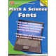 Math & Science Fonts CD