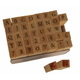 Printer's Type Uppercase Alphabet Stamp Set