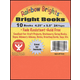 Bright Books - Set of 10 Assorted Colors (4 1/4