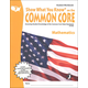 Show What You Know on the Common Core Mathematics Student Workbook Grade 7