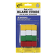 12 Blank Cubes w/ 150 Stickers (green, red, white, yellow)