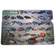 Fresh Water Fish Placemat