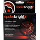 Spoke Brightz Bike Light - Orange