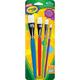 Crayola Big Paintbrushes - Flat 4 count