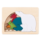 Polar George Luck Wooden Layers Puzzle (6 Piece)