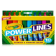 Crayola PowerLines Washable Project Markers with Scents 10 count