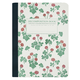 Crimson Clover Decomposition College-Ruled Book (7.5