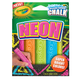 Crayola Washable Neon Sidewalk Chalk
