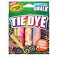 Crayola Washable Tie Dye Sidewalk Chalk