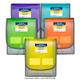 Seven-Pocket Backpack File, Assorted Colors