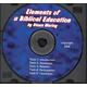 Elements of a Biblical Education CD
