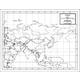 Asia Map Laminated single (8+