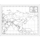Asia Map Paper single (8+