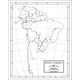 South America Map Laminated single (8+