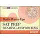 Daily Warm-Ups: SAT Prep-Rdg & Writing LII