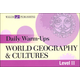 Daily Warm-Ups: World Geog & Cultures LII