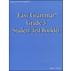Easy Grammar Grade 3 Student Test Booklet