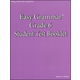 Easy Grammar Grade 6 Student Test Booklet