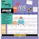 Family Plan-It Calendar (August 2018 - December 2019)