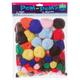 Pom Poms Everyday Asst Sizes (100 pc/pkg)