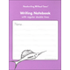 Writing Notebook - Regular Double Lines