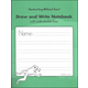 Draw and Write Notebook with Double Wide Lines