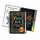 Fine Art Scratch and Sketch Activity Book