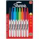 Fine Sharpie Retractable Set of 8 (Assorted Colors)